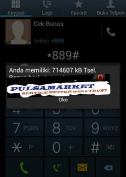 Trik SMS, Bonus Telepon dan Internet Gratis Telkomsel